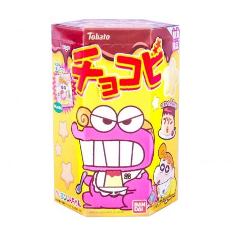 Slik STOP MADSPILD - Tohato Chocobi Crayon Shin-Chan Pudding Candy Snack RM80184