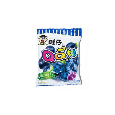 Slik WantWant QQ Blueberry Vingummi RJ09001