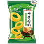 Chips og snacks STOP MADSPILD - Haitai Calbee Roasted Onion Rings Snack RG30031