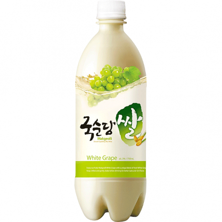 Drikkevarer Kooksoondang Makgeolli White Grape Rice Drink 3% 750ml EA30122