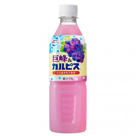 Læskedrikke Asahi Calpis Grape 500ml QC38005