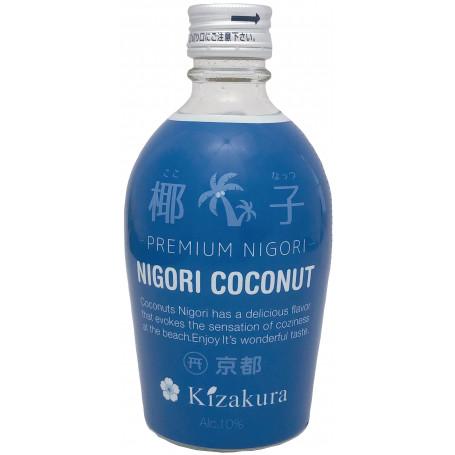 Sake Kizakura Coconut Nigori Sake 300ml EA18891