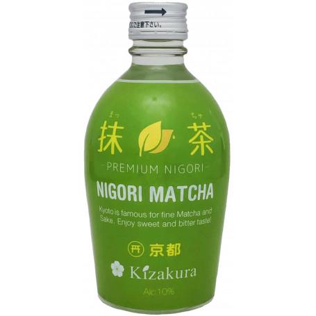 Sake Kizakura Nigori Matcha 300ml EA18911