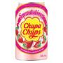 Læskedrikke Chupa Chups Strawberry & Cream Sodavand 345ml QN46002