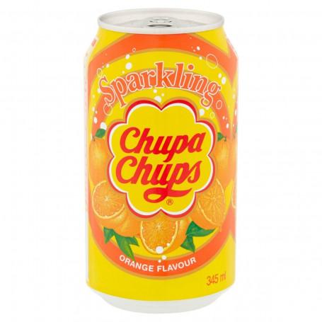 Læskedrikke Chupa Chups Orange Sodavand 345ml QN46003