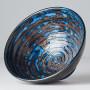 Skåle Japansk Keramik Skål 16cm Blå Kobber Hvirvel VHC3818