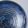 Skåle Japansk Keramik Ramen Skål 25cm Blå Kobber Hvirvel VHC3804