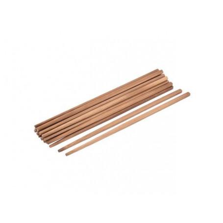 Sushi udstyr Brune spisepinde i bambus 18cm 100 stk VA00640