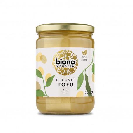 Tofu Biona Firm Økologisk Tofu i Glas 500g BK06325