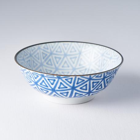 Skåle Japansk Keramik Skål 19cm Indigo Trekanter VHC6425A