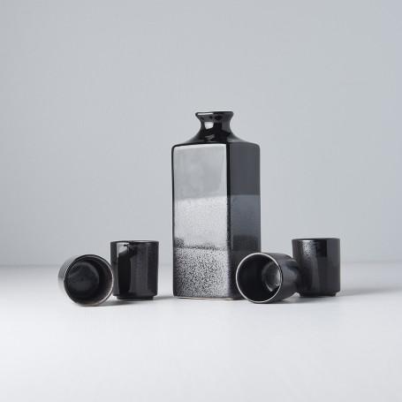 Sake udstyr Japansk Keramik Sake Serveringssæt Koksgrå VZC5187