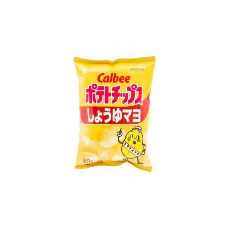 Chips og snacks STOP MADSPILD - Calbee Potato Shoyu Mayo Chips RR15005