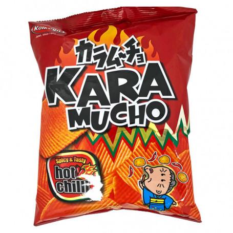 Chips og snacks Koikeya Potato Karamucho Bølge Chips RR01179