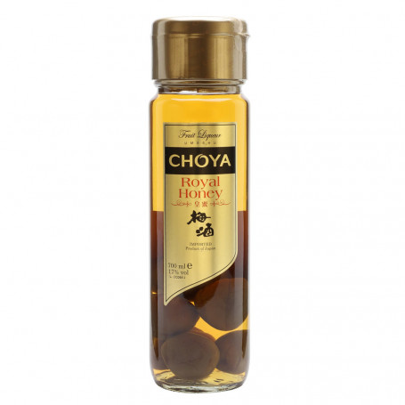 Umeshu Choya Royal Honey Umeshu m/Ume Blommer 700ml 17% EM11435