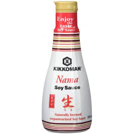 Soja sauce Kikkoman Nama Shoyu 200ml CB00133