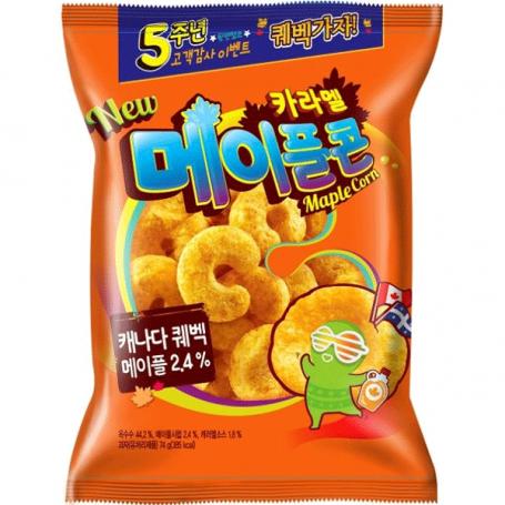 Chips og snacks Crown Caramel Corn Maple RM30160