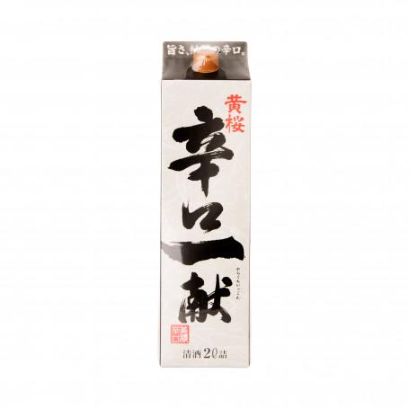 Sake Kizakura Karakuchi Ikkon Sake 2L Karton EA10220