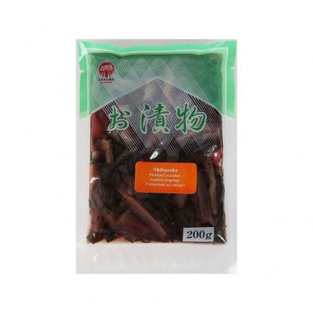 Syltede varer Shibazuke Syltede Grøntsager 200g FA00076