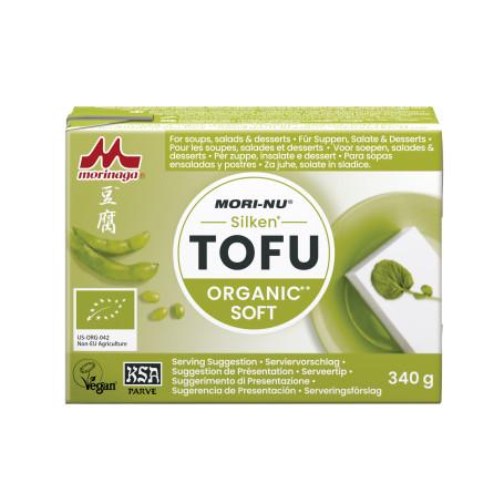 Tofu Mori-Nu Soft Silken Tofu Økologisk 340g BK08053