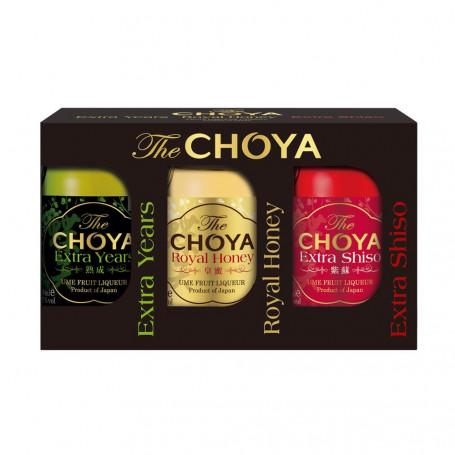 Umeshu Choya Tasting Set 3x50ml 17% EM15531