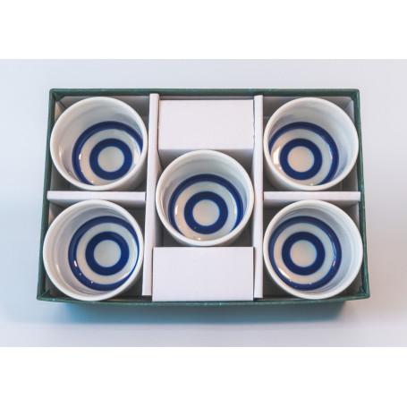 Sake udstyr Masumi Kikikojo sæt med 5 sake kopper VZ31232