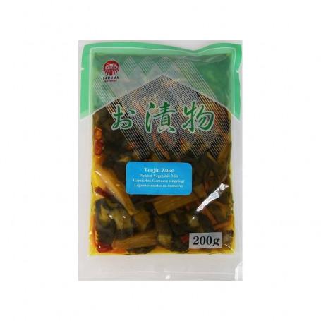 Syltede varer Tenjinzuke syltede grøntsager 200g FA00093