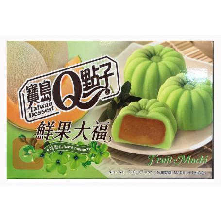 Slik He Fong Hami Melon Fruit Mochi 210g RN70118