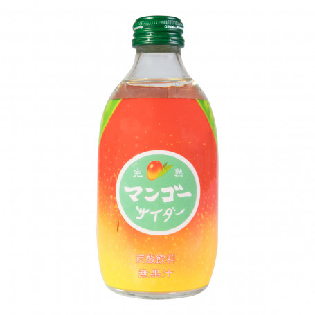 Læskedrikke Tomomasu Mango Sodavand 300ml 18280051