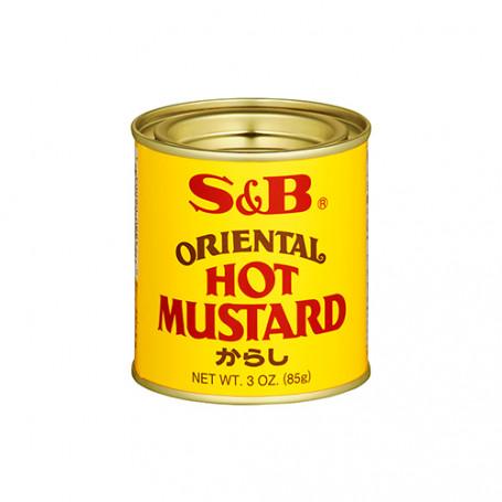 Specialiteter S&B Oriental Hot Mustard Sennep Pulver JE15054