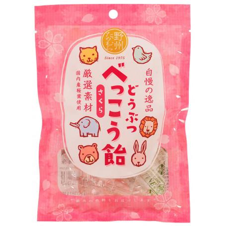 Slik Animal Bekko Sakura Shiso Bolsjer RL00303