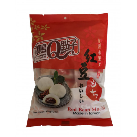 Slik Red Bean Mochi 120g RN70431