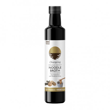 Sauce Instant Nudel Tsuyu Bouillon 245ml Økologisk LC00115