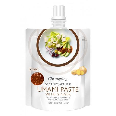 Sauce Clearspring Umami Paste m. Ingefær - Økologisk KC00441