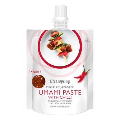 Sauce Clearspring Umami Paste m. Chili - Økologisk KC00442