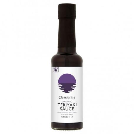 Sauce Clearspring Teriyaki Sauce 150ml Økologisk LA00105