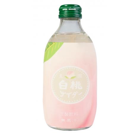 Læskedrikke Tomomasu Fersken Sodavand 300ml QN80050
