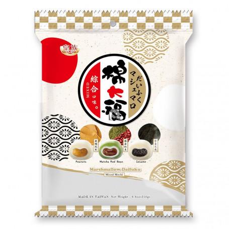 Slik Daifuku Mixed Marshmallow Mochi 250g RN70395