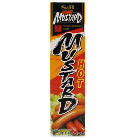 Specialiteter S&B Hot Mustard Tube 43g JE13718