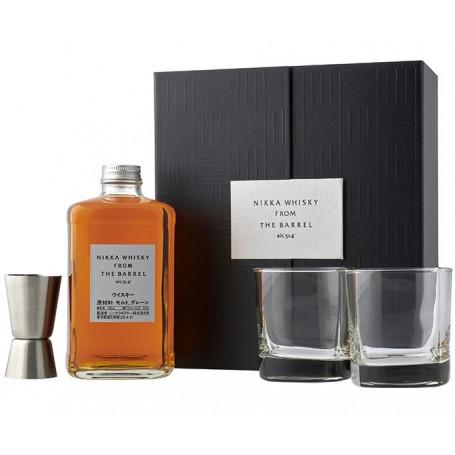 Whisky Nikka From the Barrel Gaveæske med 2 glas EP99010