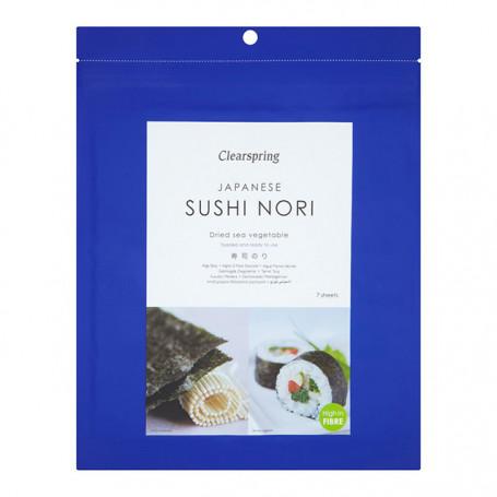 Nori sushi tang Clearspring Nori Sushi Plader Ristet PC05428