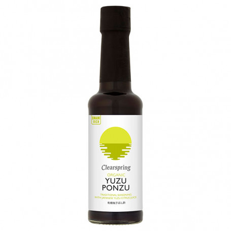 Sauce Clearspring Yuzu Ponzu Økologisk 150ml CZ00706