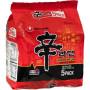 Nudler Nongshim Shin Ramyun Hot & Spicy Instant Nudler 5-pak AC09030