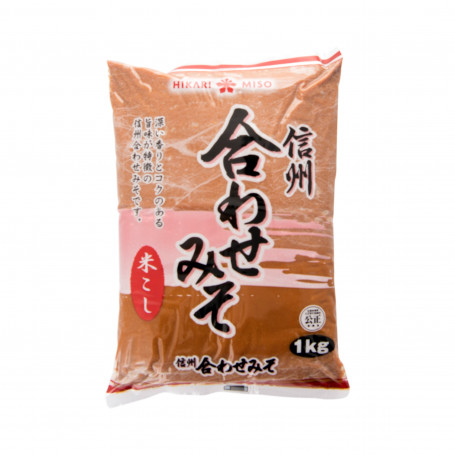 Miso Shinshu Awase Rød Miso 1kg GA00020