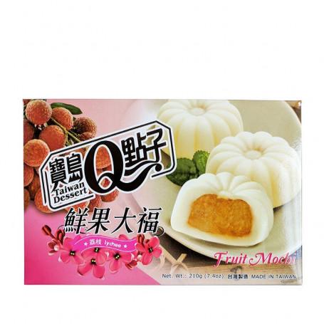 Slik He Fong Lychee Fruit Mochi 210g RN27115