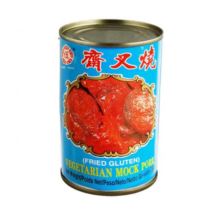 Konserves Wu Chong Mock Pork - Vegansk Imiteret Svinekød 280g BP70040