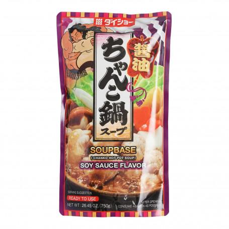 Suppebaser Hot Pot Suppebase Chanko Nabe Shoyu 750g LE28052