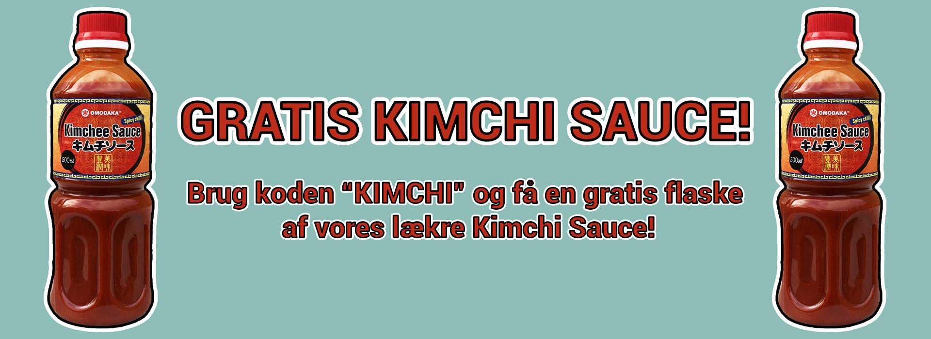 Gratis Kimchi Sauce